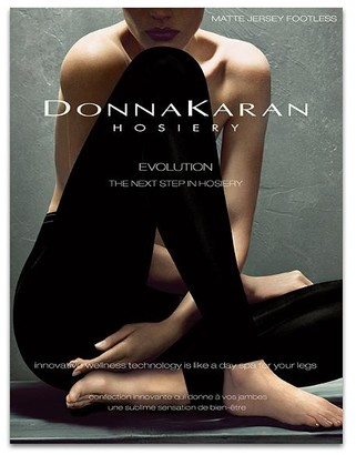 Donna Karan Hosiery Evolution Matte Jersey Footless Tights