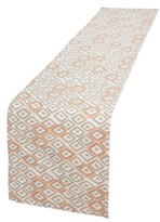 Minted Painted Diamonds Table Runner