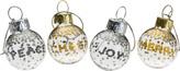 Mikasa Cheers Confetti Set of 4 Wine Ornament Charms