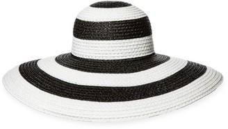 Eric Javits Stripe Floppy Sun Hat