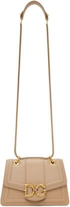 Dolce & Gabbana Beige Small Amore Bag