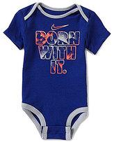 Nike Baby Boys Newborn-12 Months Born With It Short-Sleeve Bodysuit