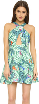 Mara Hoffman Leaf Linen Crossover Dress