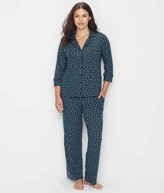 Kate Spade Kirby Dot Jersey Knit Pajama Set