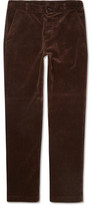 Margaret Howell Mhl Cotton-corduroy Trousers - Brown