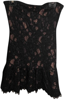 The Kooples Spring Summer 2019 Black Lace Dress for Women