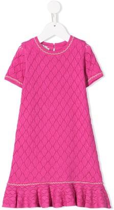 Christian Dior knitted diamond dress