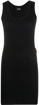 Dolce & Gabbana Fine-Rib Long Tank Top