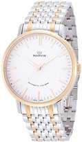 Marvin Men's 'Origin' Swiss Automatic and Stainless Steel Dress Watch, Color:Two Tone (Model: M125.33.21.33)