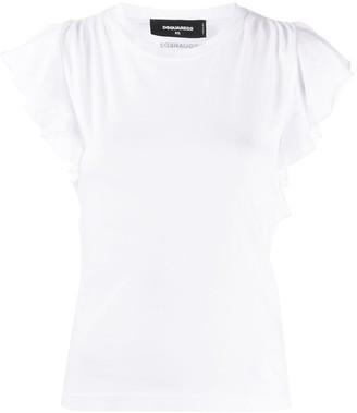 DSQUARED2 back cut-out T-shirt