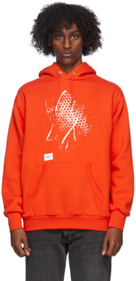 Vans Orange WTAPS Edition Pullover Hoodie