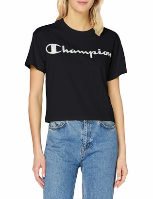 Champion Women's Seasonal Metallic Logo T-Shirt