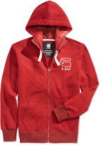 G Star Men's Graphic Zip-Up Hoodie, A Macy's Exclusive Style