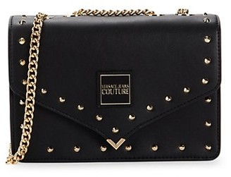Versace Jeans Couture Studded Crossbody Bag