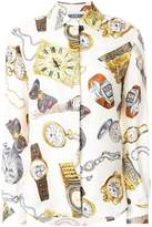 Moschino Time print shirt