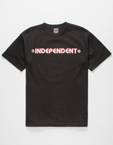 Independent Bar Cross Mens T-Shirt