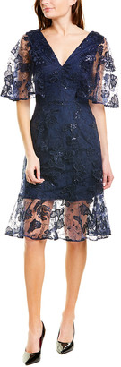 Dress the Population Roseanna A-Line Dress