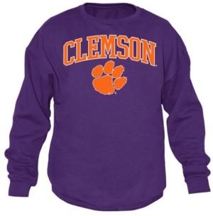 Top of the World Men's Clemson Tigers Midsize Crew Neck Sweatshirt