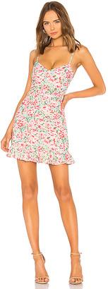 LPA Multi Ruffle Mini Dress