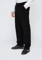 Our Legacy Used Black Wide Corduroy Chino 22
