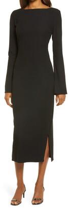Reformation Nessa Long Sleeve Dress