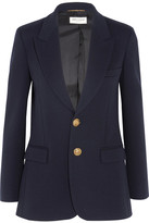 Saint Laurent Wool Blazer - Navy