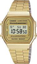 Casio A168WG9EF unisex gold-plated digital watch