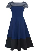 Amanda Wakeley Harmony Indigo Short Dress