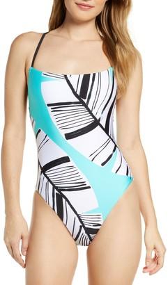 Trina Turk Copacabana High Leg One-Piece Swimsuit
