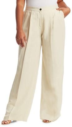 Marina Rinaldi Marina Rinaldi, Plus Size Recinto Linen Pants