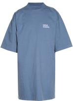 Vetements Oversized cotton-jersey T-shirt dress