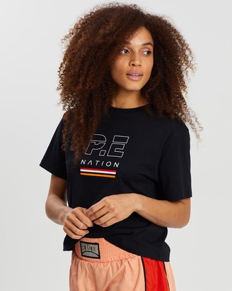 P.E Nation Ignition Cropped Tee