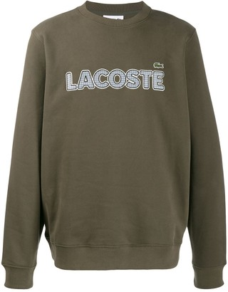 Lacoste Embroidered Logo Sweatshirt