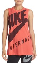 Nike Women's Graphic Logo Muscle Tank