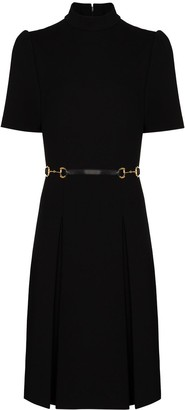 Gucci Horsebit shift mini dress