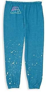 Chaser Little Girl's & Girl's Star Wars Neon Sweatpants
