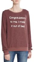 Wildfox Couture I Made It Sweatshirt