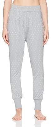 Schiesser Women's Jerseyhose Lang Pyjama Bottoms,UK