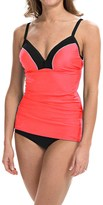 Free Country Color-Block Tankini Top (For Women)