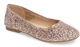 Sam Edelman Girl's Felicia Anna Glitter Ballet Flat