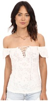 Free People Popsicle Off the Shoulder Top