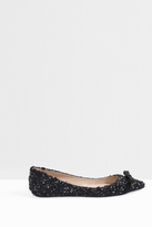 Giambattista Valli Tweed Flat Shoes