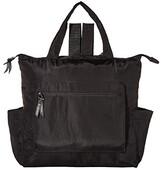 Baggallini Packable Backpack Tote (Black) Backpack Bags