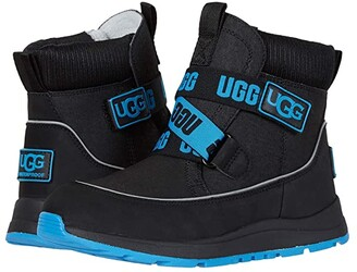 Ugg Kids Tabor Waterproof (Toddler/Little Kid/Big Kid) (Black) Kid's Shoes