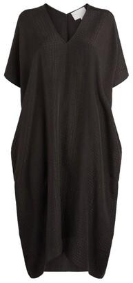 MARIE FRANCE VAN DAMME Silk Beach Dress