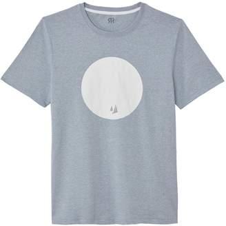 La Redoute Collections Sailboat Print Crew Neck T-Shirt