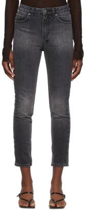 Ksubi Black Slim Pin Jeans