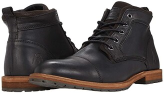 Bullboxer Hudson (Black) Men's Shoes