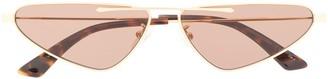 McQ Swallow Cat Eye Frame Sunglasses