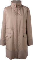 Loro Piana Winferd coat - women - Lamb Skin/Polyester/Polyurethane/Virgin Wool - 40